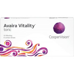 Avaira Vitality Toric contact lenses 6-pack