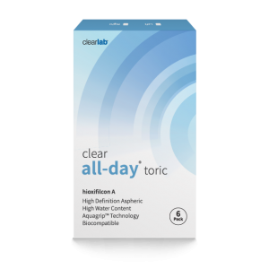 Clearall-day Toric contact lenses (6-pack)